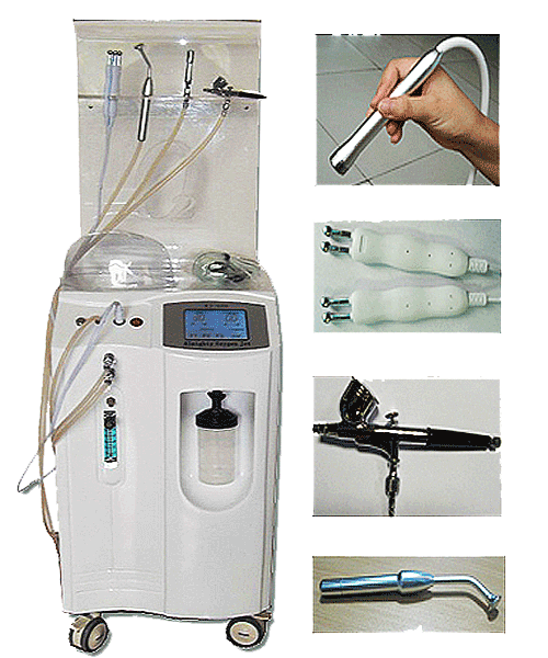 Oxygen Equipment facial treatment