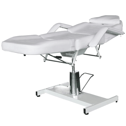 Facial bed hydraulic