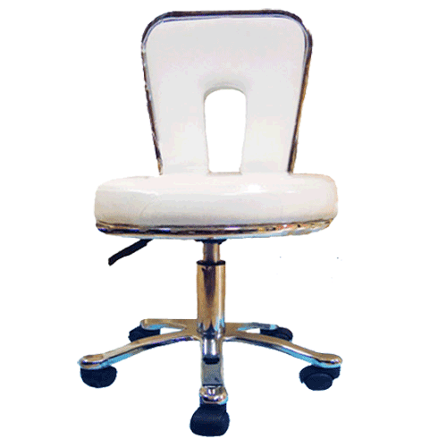 Spa Stool with low back rest