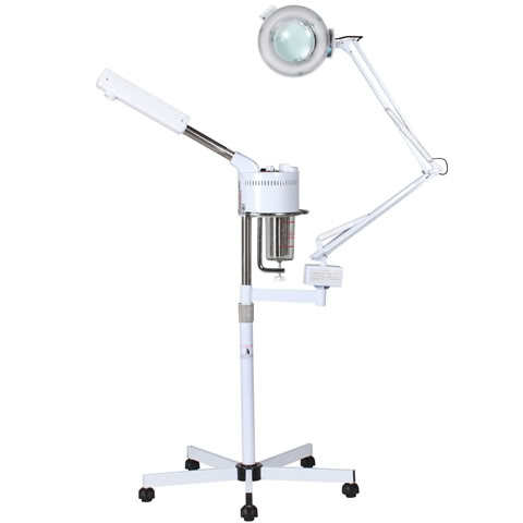Steamer with Magnifying Lamp
